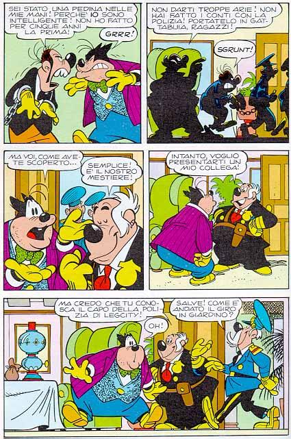 """ct07-10 tavola a fumetti tratta da"""" Ritorno a Legcity"""""""
