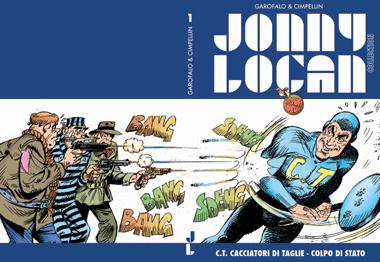 Una copertina delle serie Jonny Logan