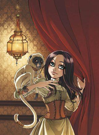 """illustrazione estratta serie """"PRINCESSE SARA"""" pubblicata da Soleil/Delcourt in Francia"""