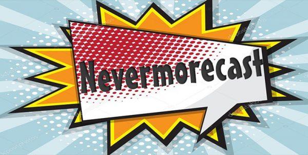 Logo del collettivo Nevermorecast