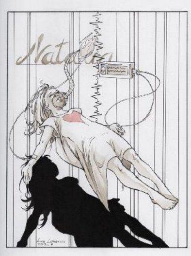"""""""Natalia di Anna Lazzarini"""" una delle opere in mostra a Fallarate per la mostra tributo """"La mia gente.Enzo Jannacci, canzoni a colori"""""""