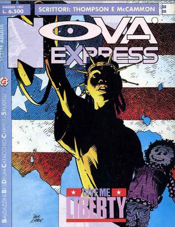 Copertina del n.3 della rivista Nova Express