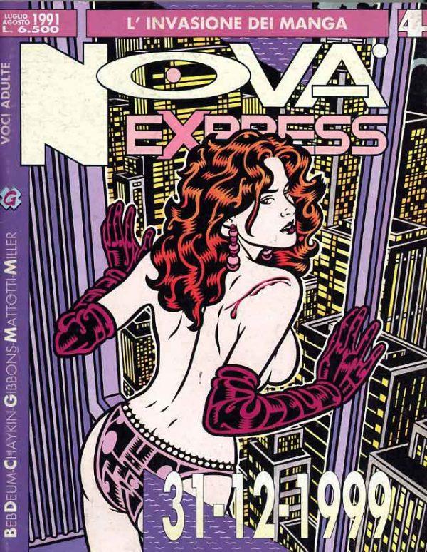 Copertina del n. 4 della rivista Nova Express