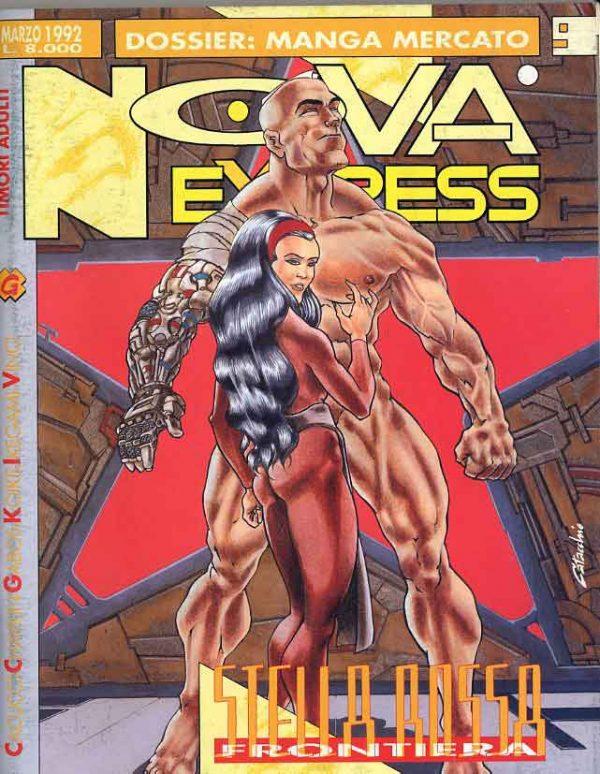 Copertina del n. 9 della rivista Nova Express